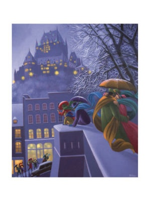 Claude Theberge - First Snow!