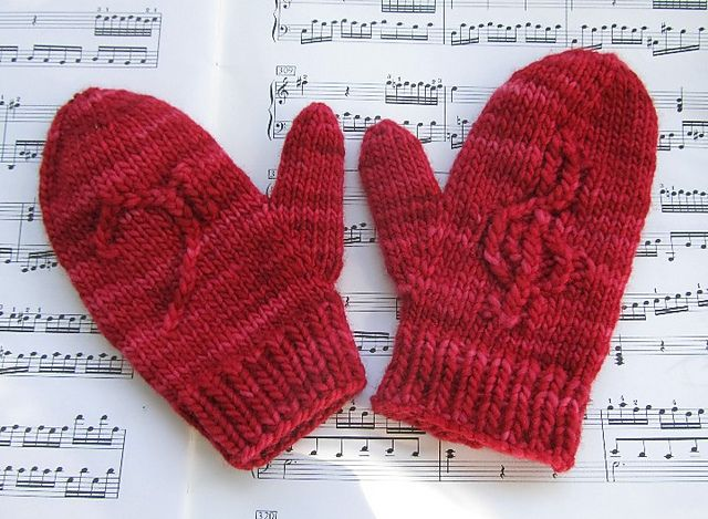 Knitting Without Needles Pdf : Images about mittens gloves fingerless on pinterest