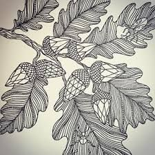 Image result for feather acorn and oak leaf tattoo