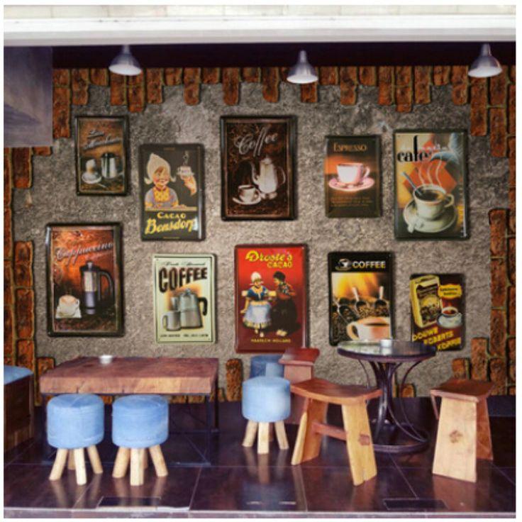 17 best ideas about living room bar on pinterest dry bar for Cafe mural wallpaper