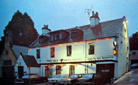 The Isle of Skye Hotel, Perth. (1970s)