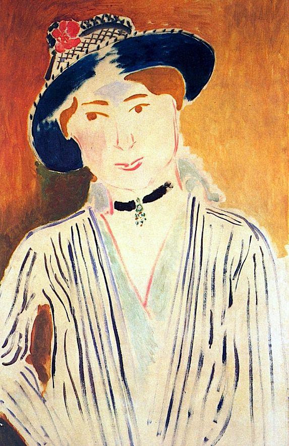 Striped Jacket Henri Matisse - 1909-1915