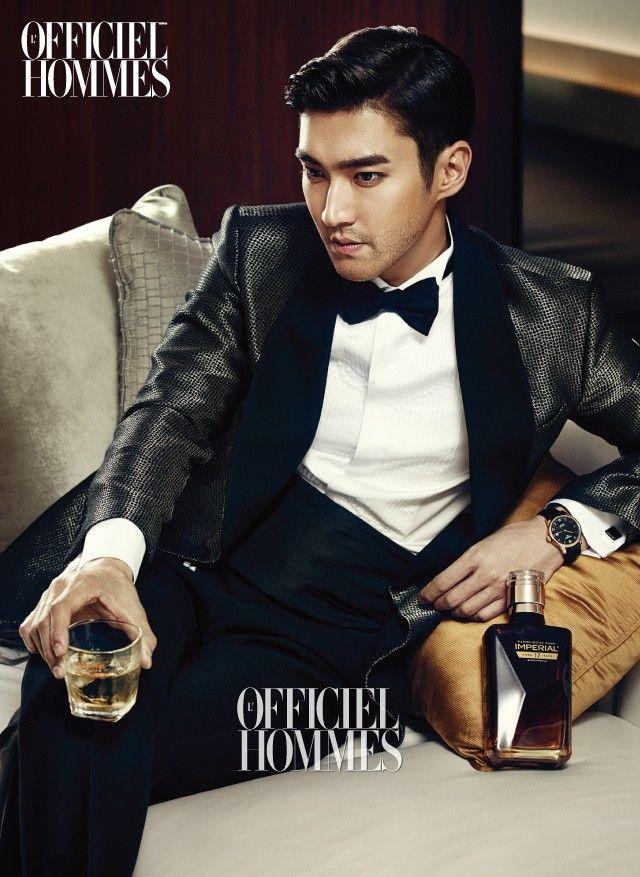 Siwon - L'Officiel Hommes Magazine December Issue '14