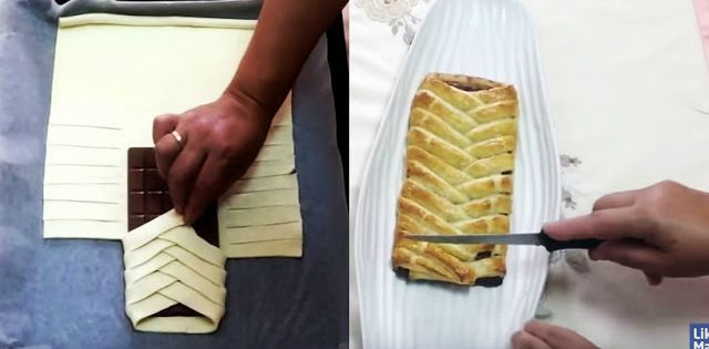 Video: Infasoara o tableta de ciocolata in aluat.