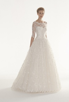 Brides: Langner Couture - 2013 | Bridal Runway Shows | Wedding Dresses and Style | Brides.com