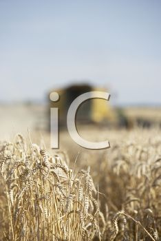 Royalty Free Photo of a Combine