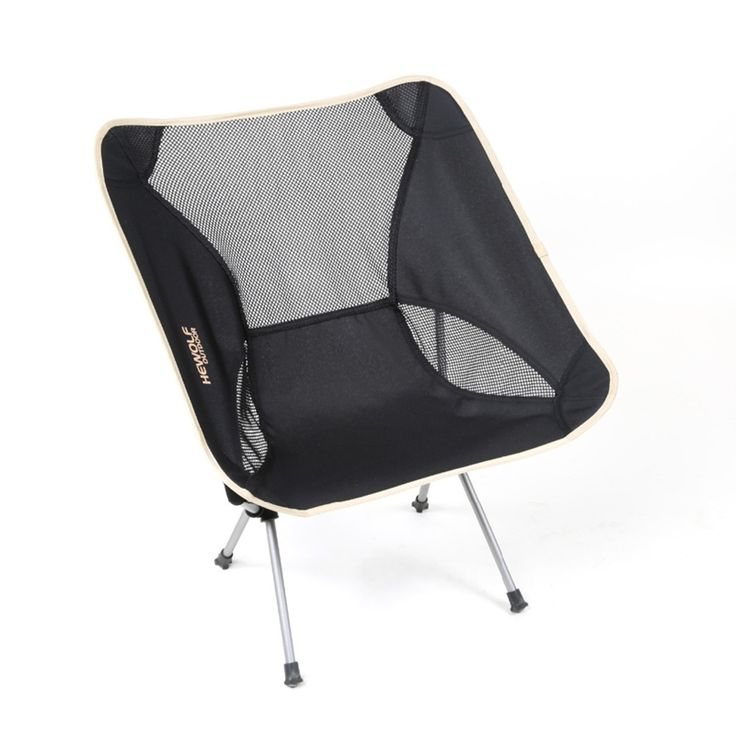 Outdoor Sport Portable Folding Fishing Chairs Aluminum Alloy Camping Fishing Chairs 600D Oxford Camping Fishing Chair 55x58x67cm