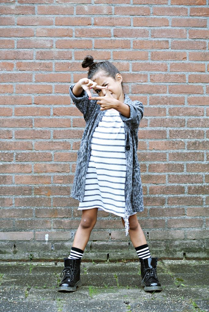 Life With Faye Blog: OUTFIT - Leopard & Stripes