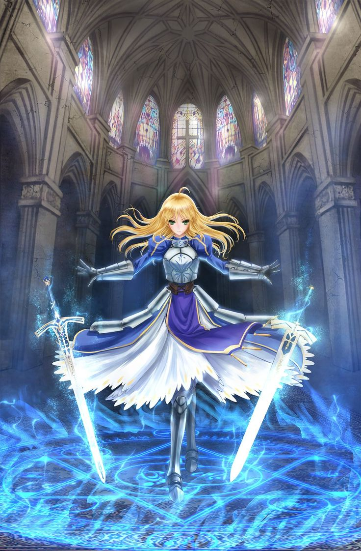 Arturia, The King of Knights Bad Ass Women Pinterest