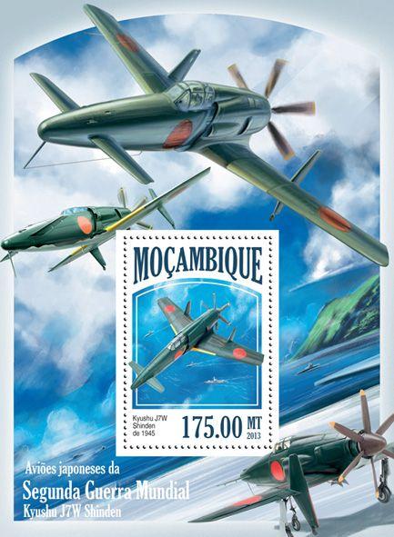MOZ 13517 bJapanese Planes of WWII, (Kyushu J7W).