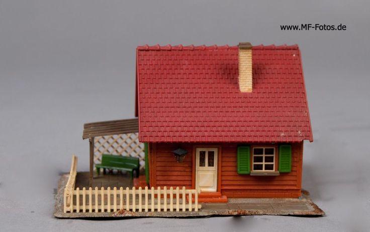 3 Häuser für Modelleisenbahn Spurweite H0