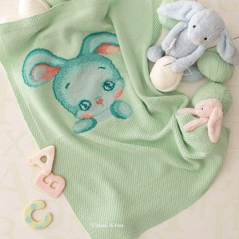 occorrente per fare una copertina culla a maglia per bambino