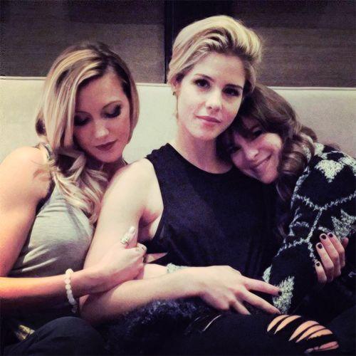 Arrow - Laurel Lance, Felicity Smoak & Caitlin Snow