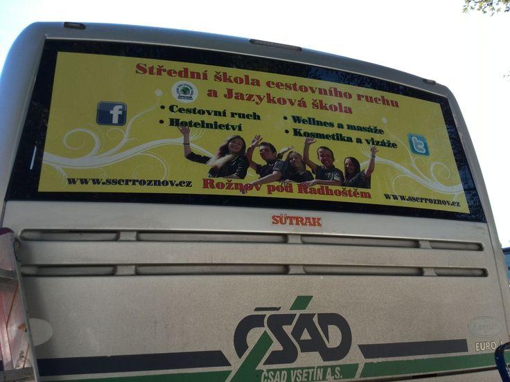 Reklama školy. Střední škola cestovního ruchu a jazyková škola s právem státní jazykové zkoušky, s r o   #Rožnov #sscr #JiříHrdý #cestovka #turismus #wellness #masér #masáže #Valašsko #Beskydy