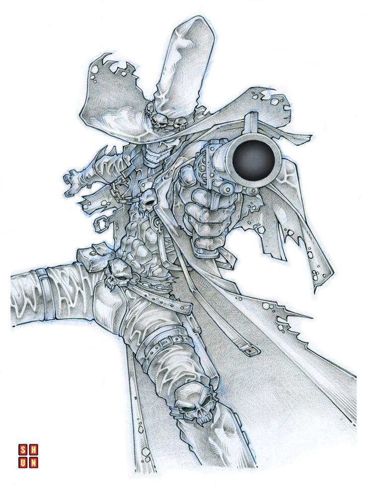 Gunslinger Spawn 001 by Shun-008.deviantart.com