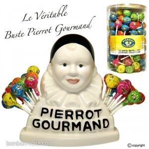 Les sucettes de Pierrot que ma grand-mere m'achetait quand j'etais enfant.