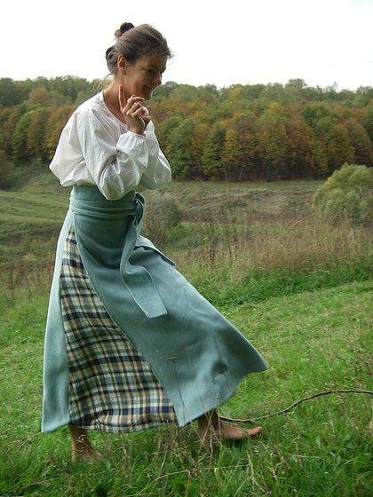 Понева шерстяная (длинная юбка с запахом) - понёва,понева,длинная юбка