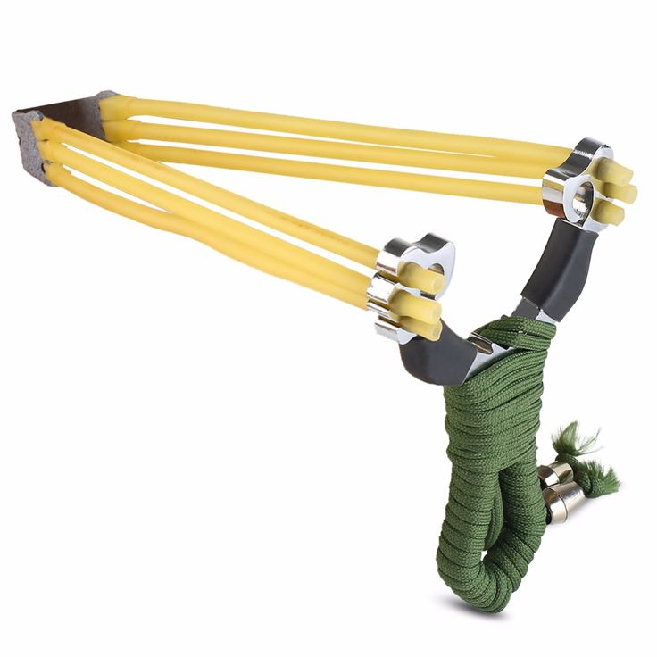 New Stainless Steel Outdoor Pro Hunting Game Slingshot Catapult Strong Power Bow for Outdoor Game Hunting