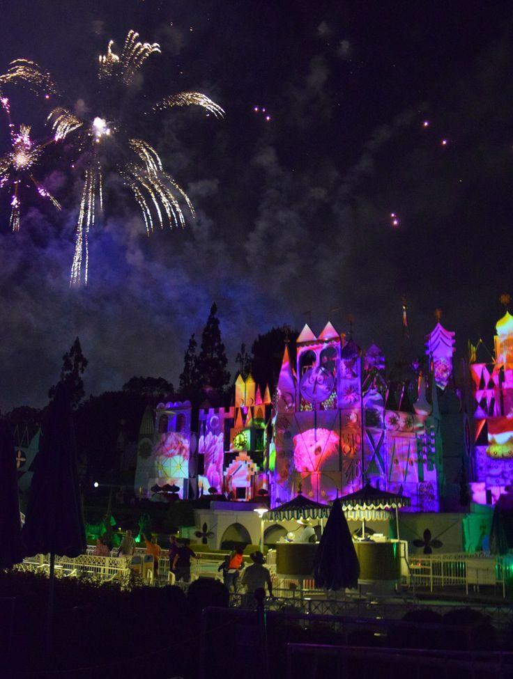 Best view of Disneyland Forever fireworks