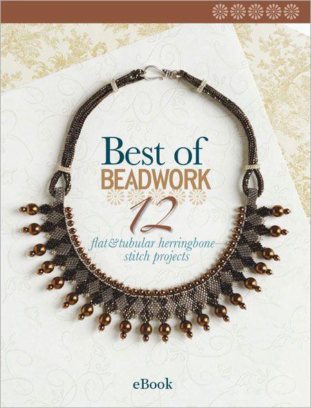 57 best beading books images on pinterest magazines bead best of beadwork 12 flat and tubular herringbone stitch projects ebook interweave fandeluxe Images