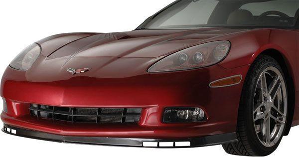 corvette america | C6 Corvette Spoiler 2005-2013 Front Z06 Style - Mid America Motorworks