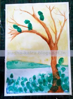 How to use innovative ways of doing Drawing and Painting...? Summer Activity for Kids..Day-10. For more details,check here- http://sudha-kalra.blogspot.in/2017/06/how-to-use-innovative-ways-of-doing.html