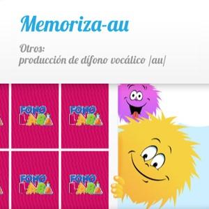 Juegos fonoaudiológicos para niños producción de dífono vocálico au