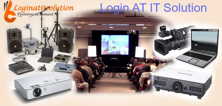 Audio-Visual Equipment Rental Company Login AT IT Solution is one of the top leading audio-visual equipment rental companies in Delhi NCR which have made a different mark in the industry. Our committed services and superior quality equipment have earned lots of a critical acclaim for catering sufficiently to customer requirements.
