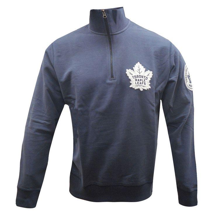 Toronto Maple Leafs '47 Brand Men's Borderland Quarter Zip