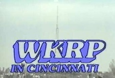 WKRP in Cincinnati is an American situation comedy that featured the misadventures of the staff of a struggling fictional radio station in Cincinnati, Ohio. The show was created by Hugh Wilson and was based upon his experiences working in advertising sales at Top 40 radio station WQXI (AM) in Atlanta. The ensemble cast consisted of Gary Sandy, Howard Hesseman, Gordon Jump, Loni Anderson, Tim Reid, Jan Smithers, Richard Sanders and Frank Bonner.
