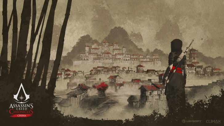 Download Assassins Creed Chronicles China Wallpaper Art