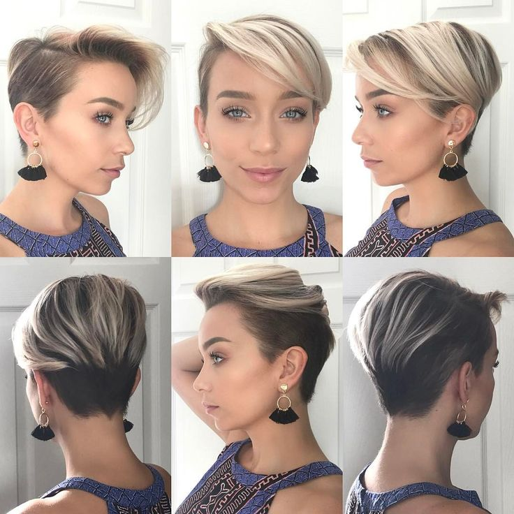 "Pixie haircut on Sarah_LouWho (@sarah_louwho) on Instagram: ""#pixie360 alert   Cut and color by @thisgirlmichele  Earrings are from @shopseahorse"""