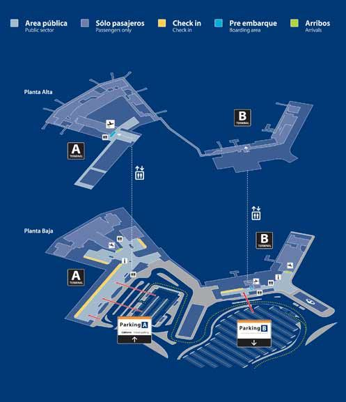 #BuenosAires Airport Map
