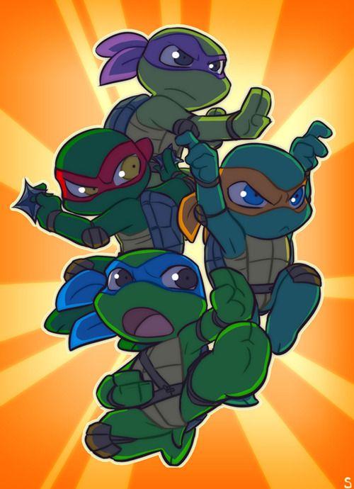 chibi ninja turtles | Source:http://www.sneefee.com/picture-galleries/tmnt/