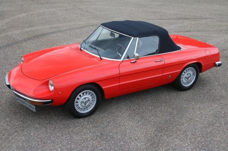 Alfa Romeo Spider 1600 'Coda Tronca' '75