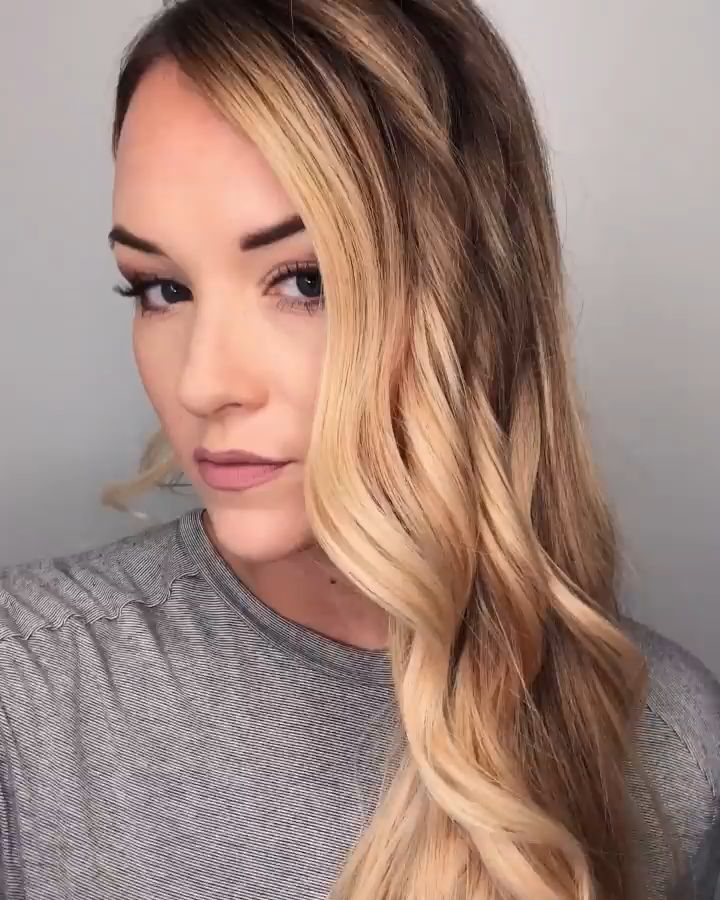 Fast and easy thick braid! How to make your braid look fuller and thicker! Easy hair idea!