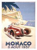 Reclameposter Monaco, 1937