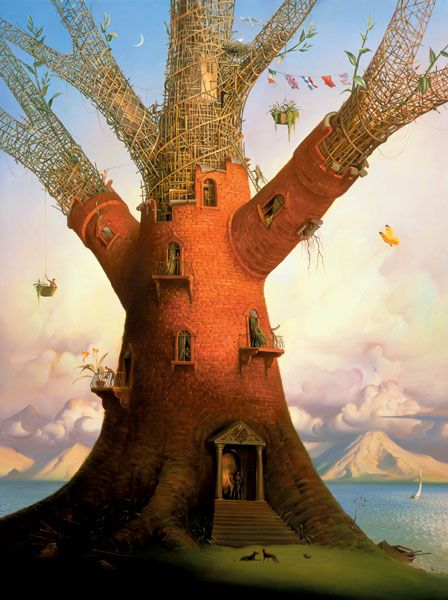 Family Tree by Vladimir Kush                                                                                                                                                                                 Más
