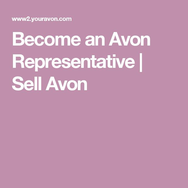 how to become an avon representative in ireland