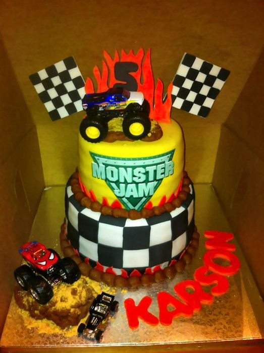 25+ Best Ideas about Monster Truck Cakes on Pinterest ...