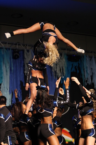 here we goooooooo #cheer #cheerleading #stunt #sport