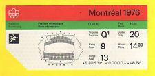 Original Ticket   Olympic Games MONTREAL 1976 - SWIMMING / 20.07.1976  !!  RARE