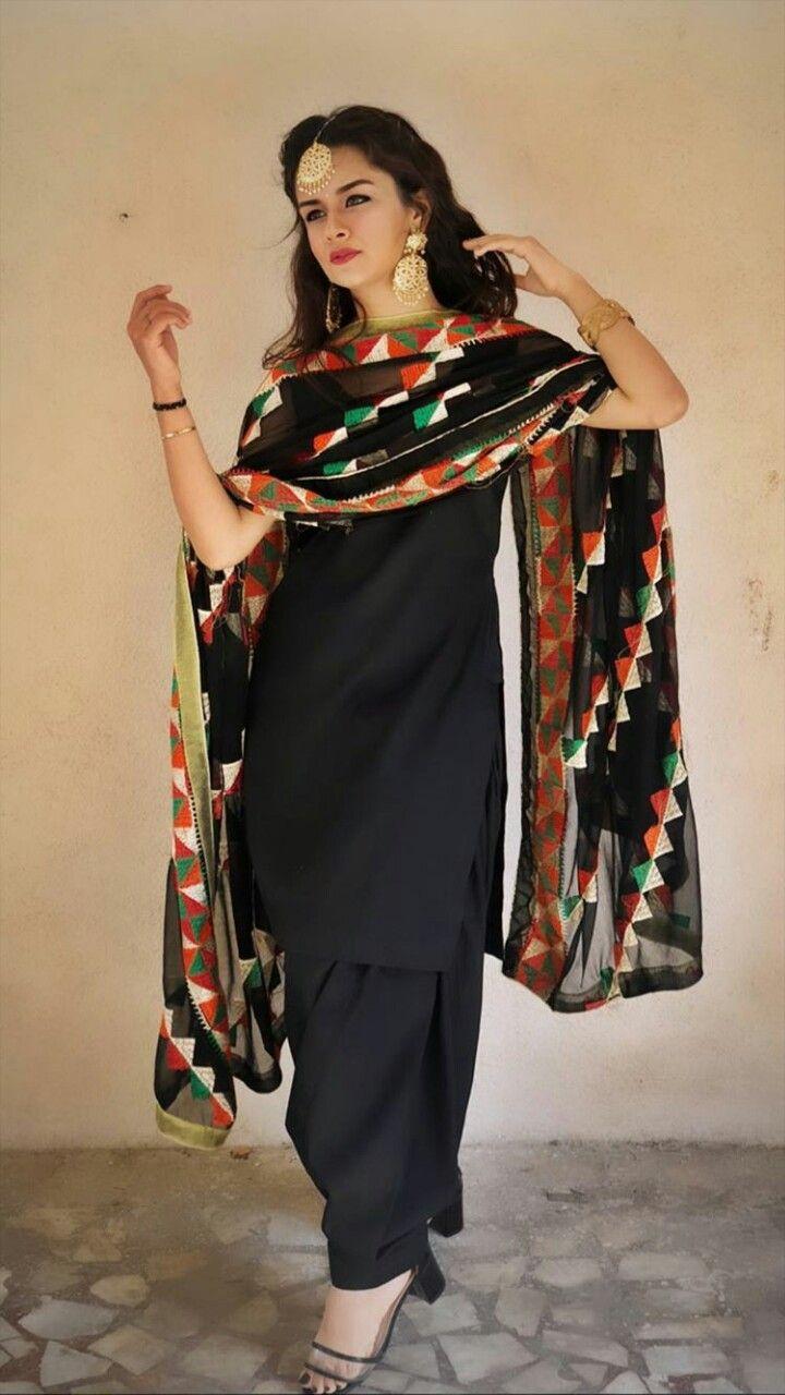 Avneet In Punjabi Dress In 2019 Girl Fashion Indian
