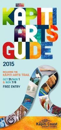 Kāpiti ArtsGuide 2015 & Kāpiti Arts Trail