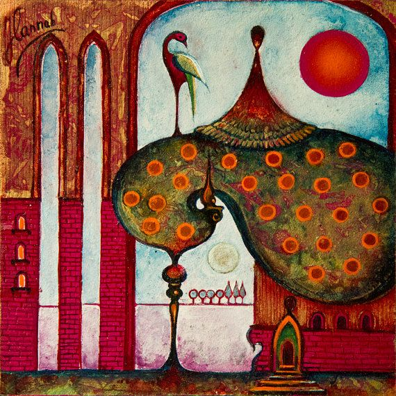 """""""On the Rooftop of the World"""" from the series """"Tales from the Unknown Book"""" by Anna Miarczynska"""