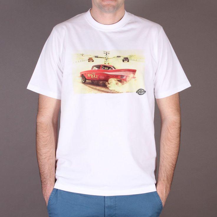 Biała koszulka Dickies Hot Rod Classic White / www.brandsplanet.pl / #dickies streetwear