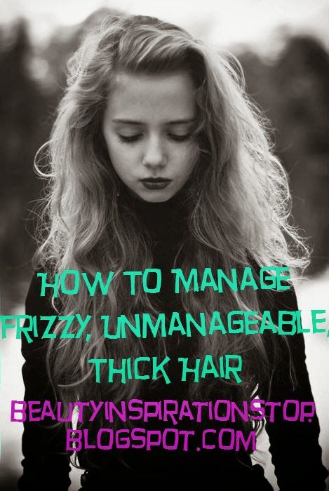 thick frizzy hair ideas