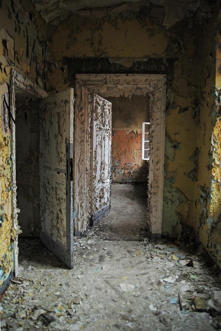 Abandoned Mental Hospital, Poland