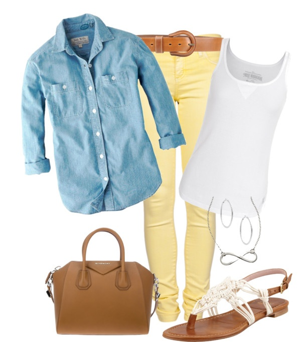 """Spring Casual"" by wcatterton ❤ liked on Polyvore"