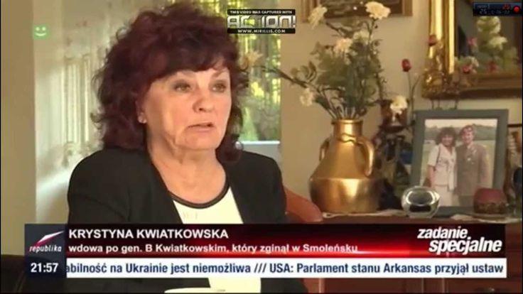"""Zadanie specjalne"""" Anity Gargas: Wdowa po generale Kwiatkowskim ujawnia...."""